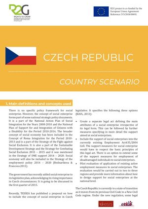 Czech Republic Country Scenario
