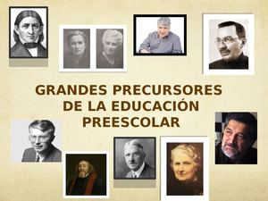Pedagogos Introduccion