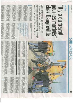 Article Courrier Picard 25 03 2019
