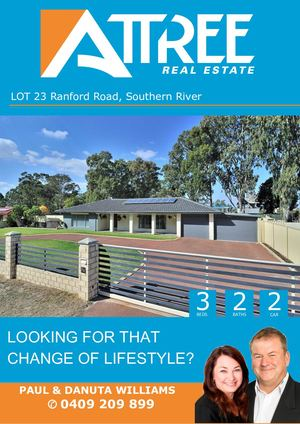 Ranford Road Lot 23, Southern River Buyer Booklet Pdw