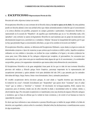 Calaméo Corrientes De Pensamiento Filosófico 1