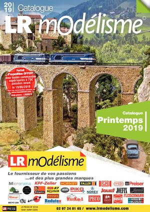 Catalogue LR Modélisme Printemps 2019