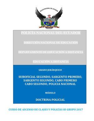 Calaméo 1 Modulo De Doctrina Policial