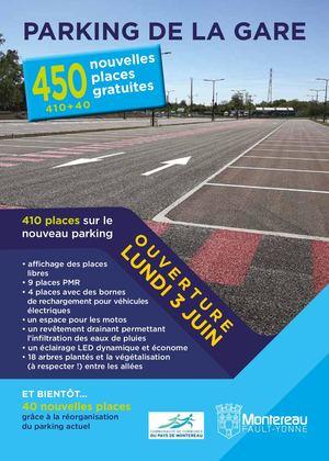 Montereau Flyers Parking Gare A5
