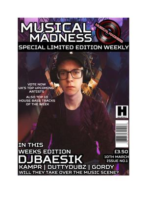 Magazine Front Cover 1