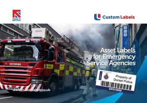 Custom Labels Ltd Asset Label For Emergency Services