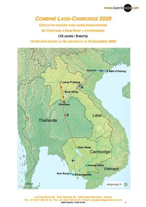 Laos Cambodge En Groupe 2020