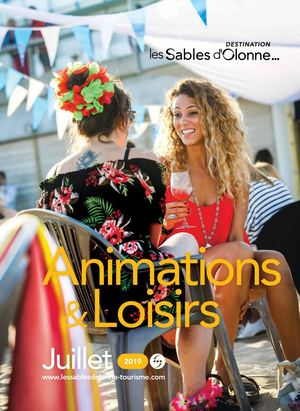 2019 - Guide Animations Juillet - Destination Les Sables d'Olonne