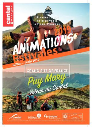 Animations estivales Grand Site de France Puy Mary - Volcan du Cantal