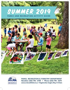Brookfield Parks And Rec Summer 2019