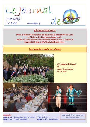 JOURNAL DE CERS - JUIN 2019