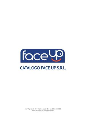 Catalogo Face Up