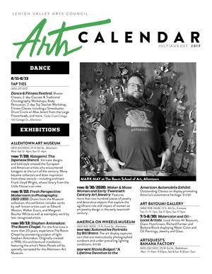 Jul Aug 2019 Arts Cal