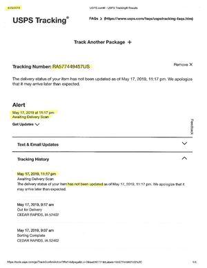 Calaméo - USPS Reg  Mail #
