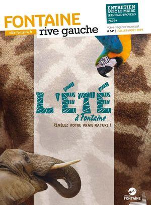 Fontaine Rive Gauche 341 Juillet Août 2019
