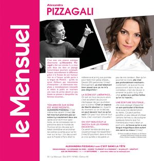 INTERVIEW Alexandra Pizzagali 2019