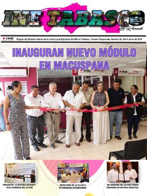INE TABASCO La Revista (No. 02)
