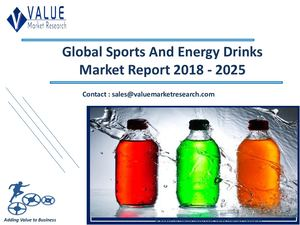 Sports And Energy Drinks Market Size, Industry Analysis Report 2018-2025 Globally