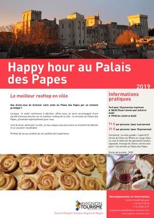 Fr Happy Hour Au Palais Des Papes