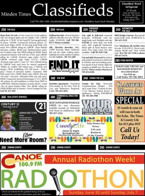 Classifieds July 11, 2019