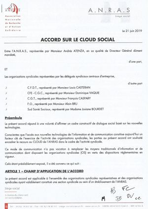 Accord Anras Cloud Social