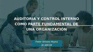 Cartilla de control interno: Parte 2