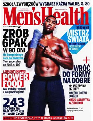 Anthony Joshua In Men's Health Poland, January 2017