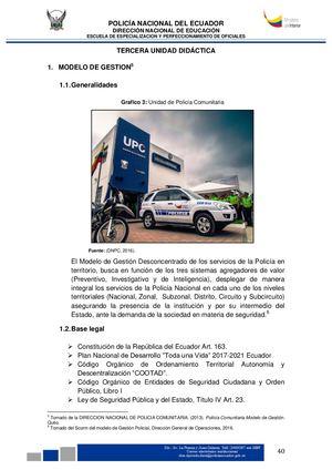 Calaméo Modulo Seguridad Ciudadana Y Policía Comunitaria 3