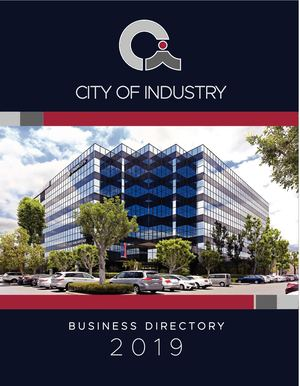 Calaméo - IBC | 2019 City of Industry Business Directory