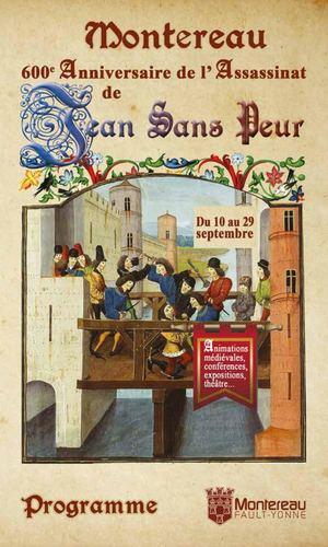 Jean Sans Peur - Programme