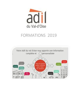 Catalogue de formation ADIL95 2nd Semestre 2019