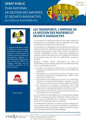Cahier Acteur Senpna Transport Dp Pngmdr