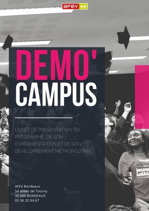 Plaquette Demo'campus