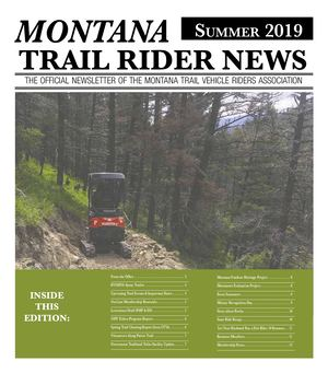 2019 Summer Montana Trail Rider News 20190731