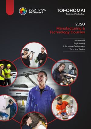 2020 Toi Ohomai Vocational Pathways (Manufacturing)