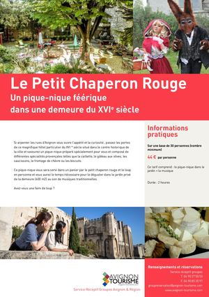 FR - Chaperon Rouge