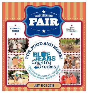 St Croix County Fair Tab 2019