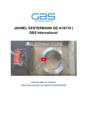 JAHNEL KESTERMANN GD A1S710 _ GBS International