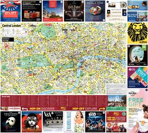 Where London Society of the Golden Keys Map 2019-20