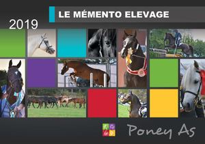 Mémento Elevage Poney As 2019