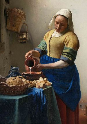 Johannes Vermeer Paintings For Reproduction