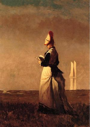 Eastman Johnson Paintings For Reproduction  www.paintingz.com