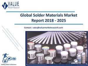 Solder Materials Market Size, Industry Analysis Report 2018-2025 Globally