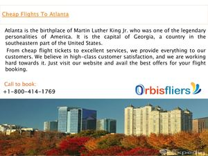 Flights to Atlanta