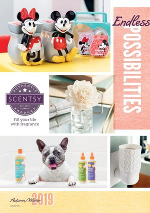 Autumn /Winter 2019 Scentsy Catalogue from Aromaz