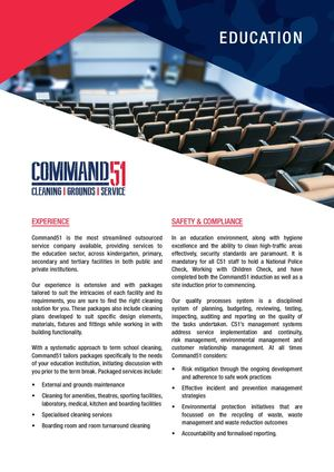Command51 Education Brochure Asba
