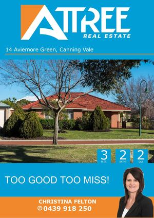 Aviemore Green 14, Canning Vale Buyer Booklet Cf
