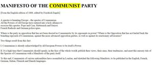 {Democracy Is Communism}- The Communist Manifesto, Read It For Yourself