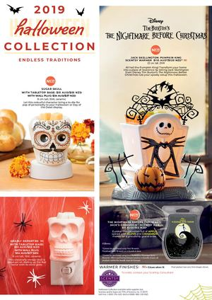 Scentsy Halloween Collection 2019