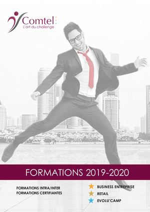Catalogue Formations Comtel 2019 2020